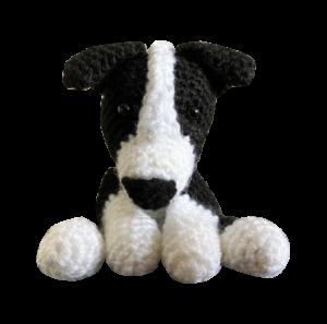 Crochet Border Collie Amigurumi Dog Part 2 of 3 DIY Tutorial - YouTube | 297x300