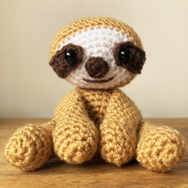 amigurumi sloth crochet pattern written tutorial