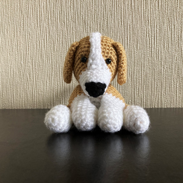 Beagle Amigurumi Dog Lover Gift, cute amigurumi beagle, dog ... | 600x600