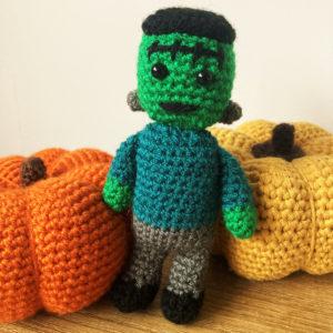 Frankenstein monster crochet pattern