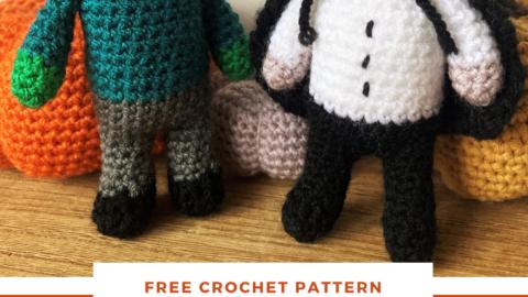 Vampire amigurumi Free crochet pattern