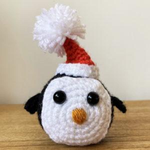 Crochet Handmade Penguin Christmas Decorations Gifts