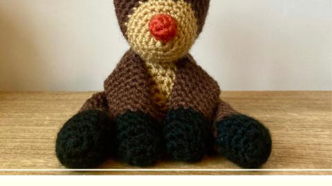 Free Reindeern amigurumi crochet pattern