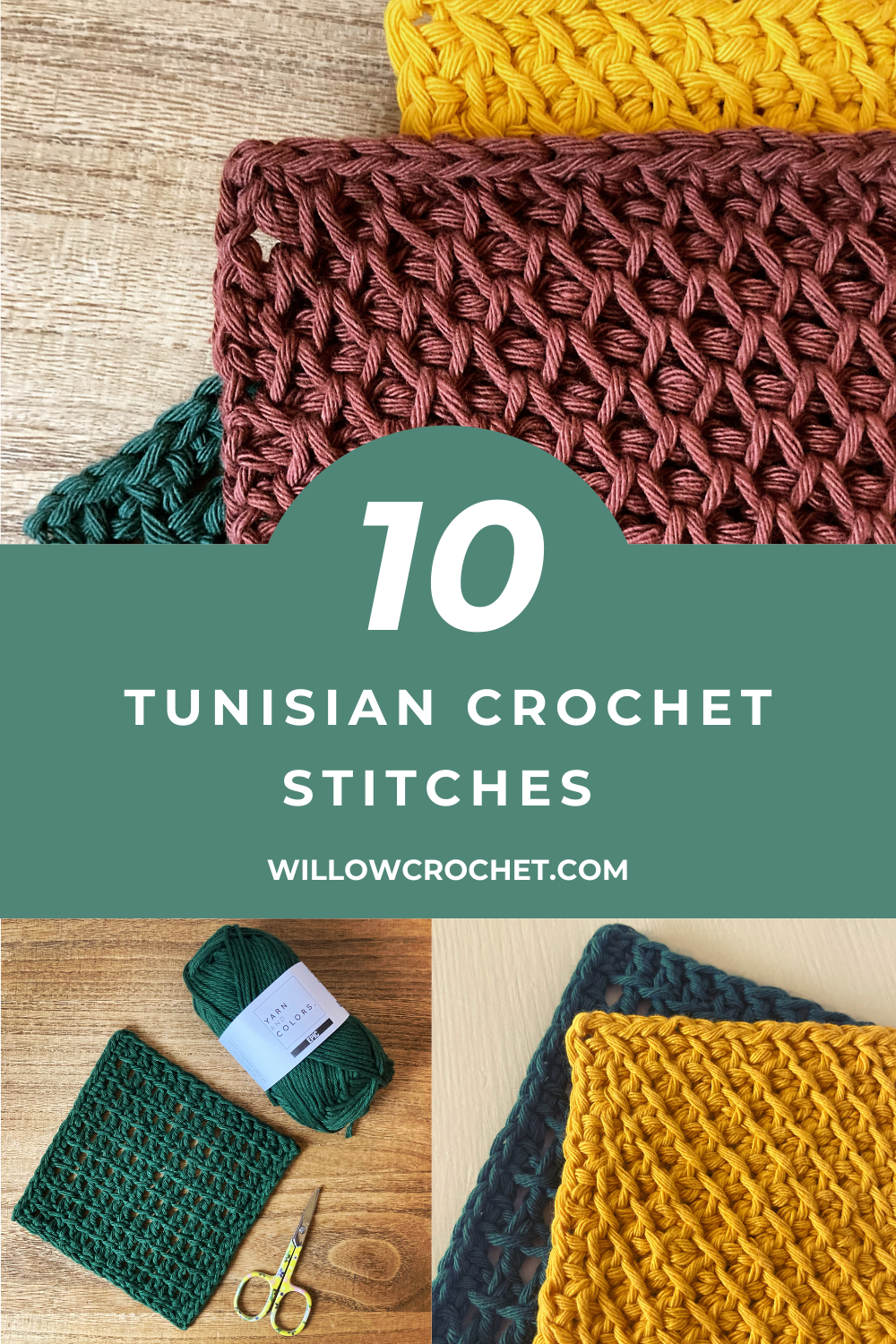 Tunisian Crochet Stitches For Beginners